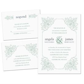 Ornate Details - Separate and Send Invitation