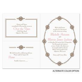 Ornamental Trim - Separate and Send Invitation