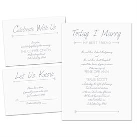 Sep and Send Wedding Invitations: Cupids Match Separate and Send Invitation
