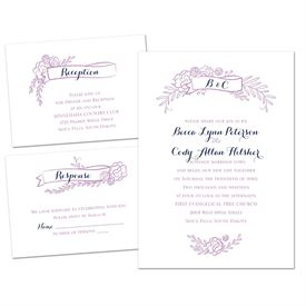 Charming Banners - Separate and Send Invitation