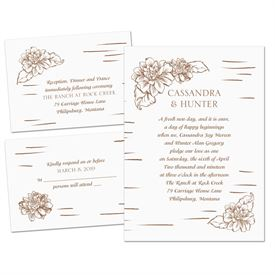 Naturally Perfect - Separate and Send Invitation