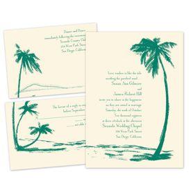 Destination Wedding Invitations: Heartwarming Separate and Send Invitation