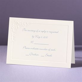 Cherished Roses - Response Card and Envelope
