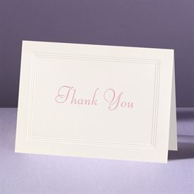 Classic Tradition  - Thank You Card and Envelope