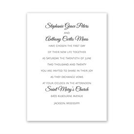 Pure Tradition - White - Petite Invitation