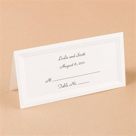 Triple Panel Place Card