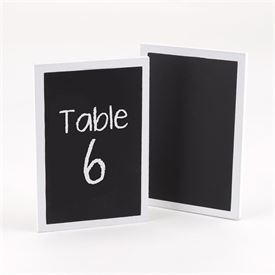 Wedding Table Numbers: 