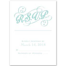 Happy Couple - Response Card