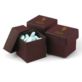 Mocha Two-Piece Favor Boxes