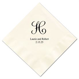 Orange Wedding Napkins: 
