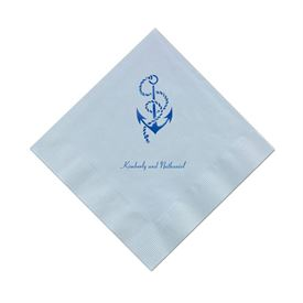 Light Blue Cocktail Napkin