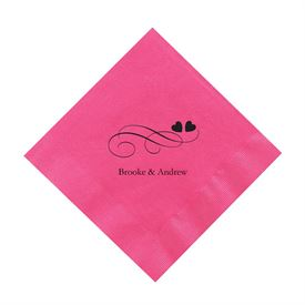 Hot Pink Cocktail Napkin