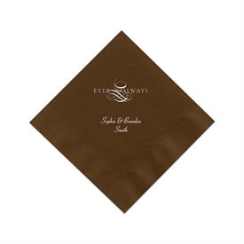 Mocha Cocktail Napkin