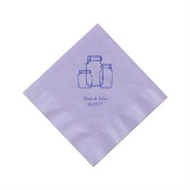 Lavender Cocktail Napkin