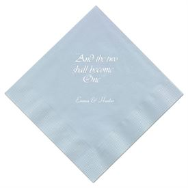 Light Blue Dinner Napkin