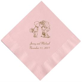 Classic Pink Dinner Napkin