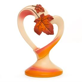 Wedding Cake Toppers: Fall Leaves Cake Top