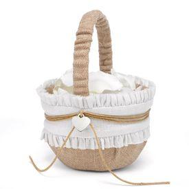 Flower Girl Baskets & More: Rustic Romance Basket