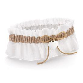 Wedding Garters: Rustic Romance Garter