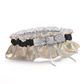 Wedding Garters: Metallic Sparkle Garter