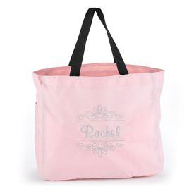 Pink Flourish Tote Bag