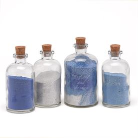 Sand Pouring Ceremony: 
