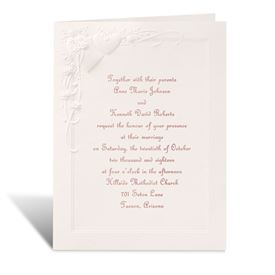 Romance at Full Bloom - Invitation