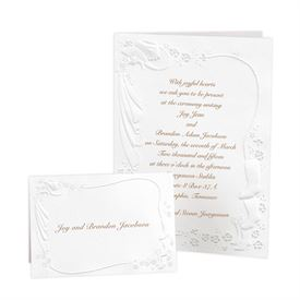 Pearl Wedding Invitations: Western Fancy Invitation