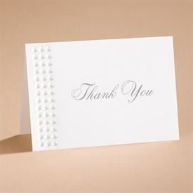 Shimmering Pearls - Thank You Card and Envelope