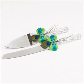 Wedding Cake Knife and Server Sets: 