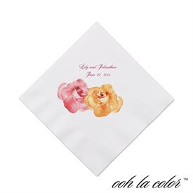 Heavenly Watercolor - Orange - Cocktail Napkin
