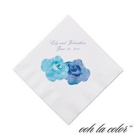 Heavenly Watercolor - Malibu - Cocktail Napkin
