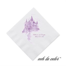 Personalized Wedding Napkins: 