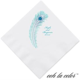 Feather Fancy Dinner Napkin