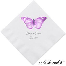 Butterfly in Grapevine - Dinner Napkin