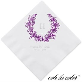 Green Wedding Napkins: 