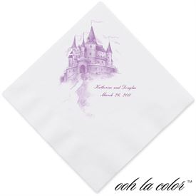 Dinner Wedding Napkins: 