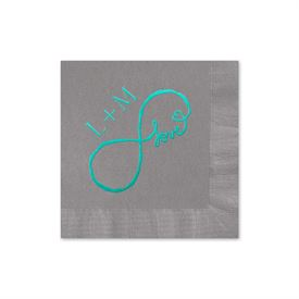 Purple Wedding Napkins: 