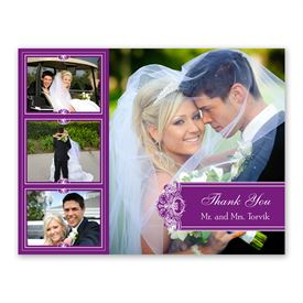 Photo Delight - Grapevine - Photo Thank You Card and Envelope