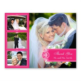 Photo Delight - Lipstick - Photo Thank You Card and Envelope