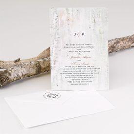 Birch Wood Address Stamp