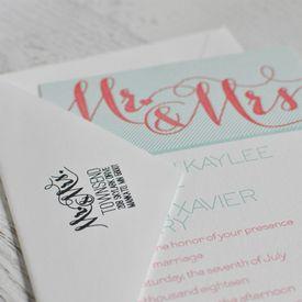 Mr. & Mrs. Address Stamp