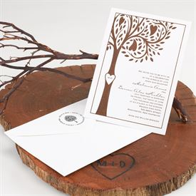 Love Tree Address Stamp