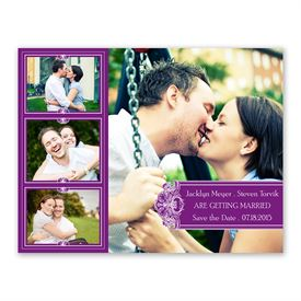 Photo Delight - Grapevine - Photo Save the Date Card