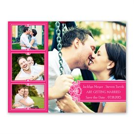 Photo Delight - Lipstick - Photo Save the Date Card