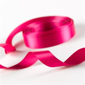 5/8 Fuchsia Satin Ribbon Roll