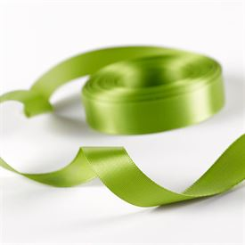 5/8 Lime Satin Ribbon Roll