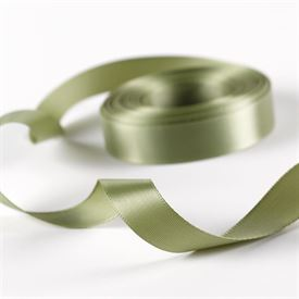 5/8 Olive Satin Ribbon Roll