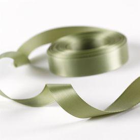 5/8 Olive Satin Ribbon Roll