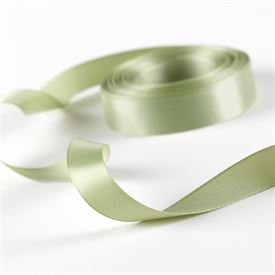 5/8 Sage Satin Ribbon Roll